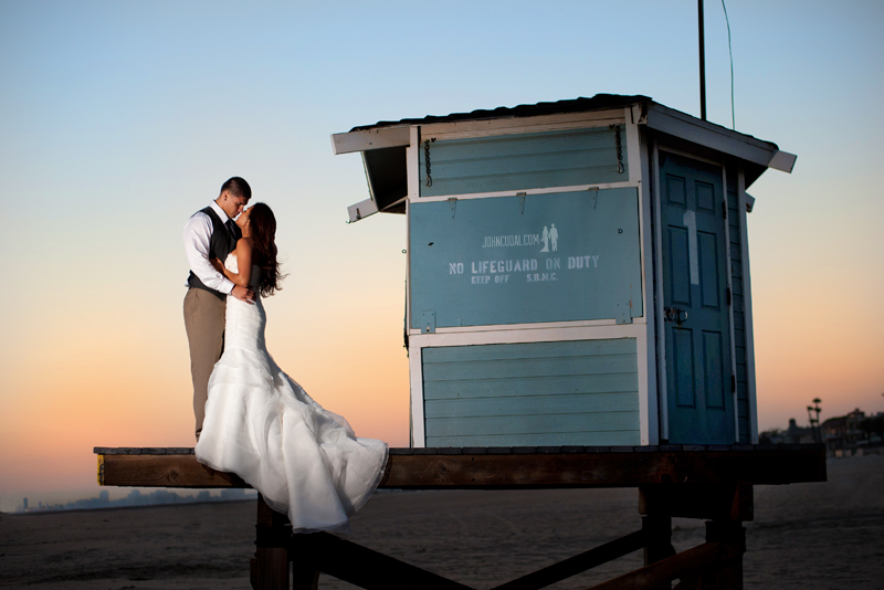 sunset bridal portraits, romantic sessions, wedding photographers