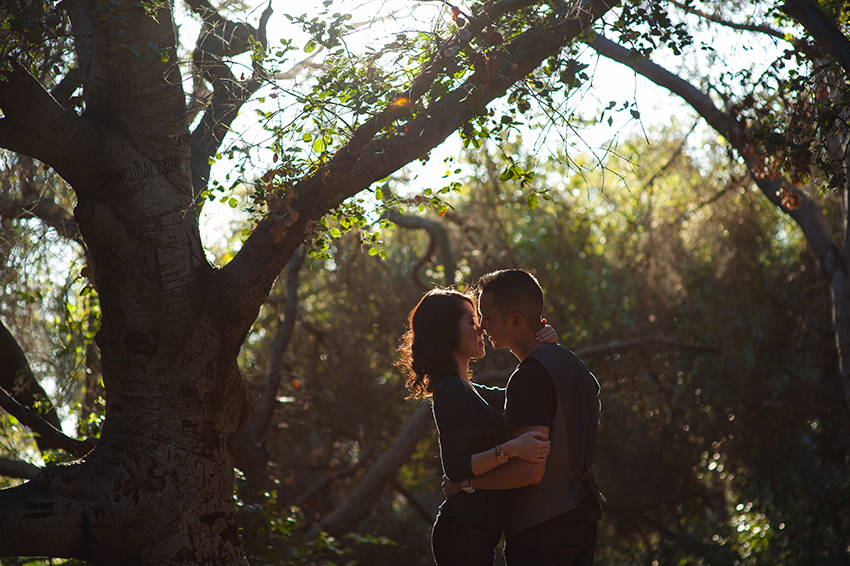 orange county engagement session photos