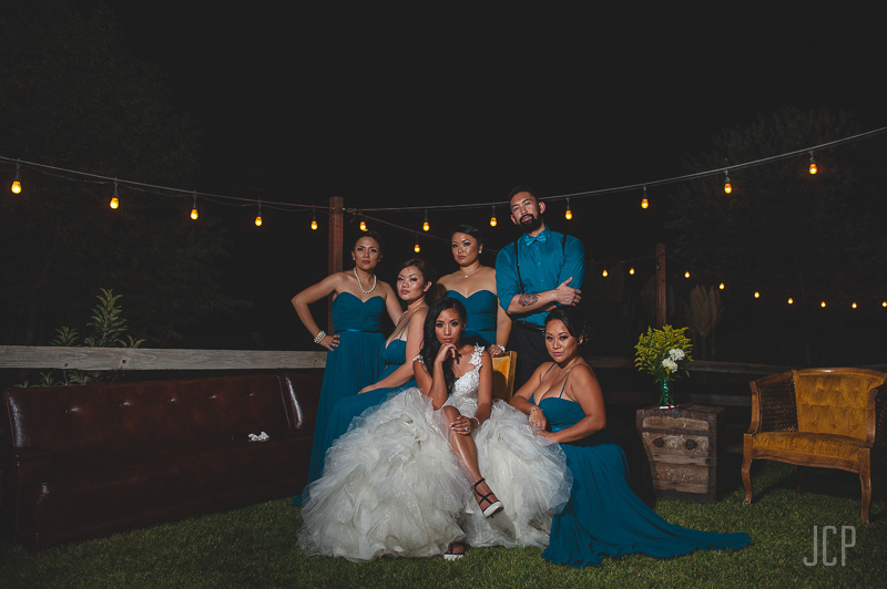 inland empire bridal party portraits