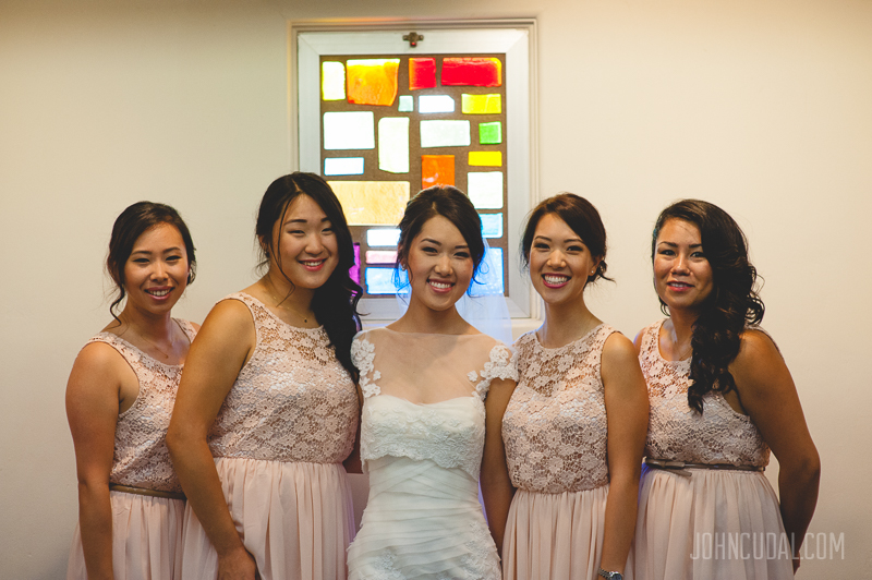 asian bridesmaids photos